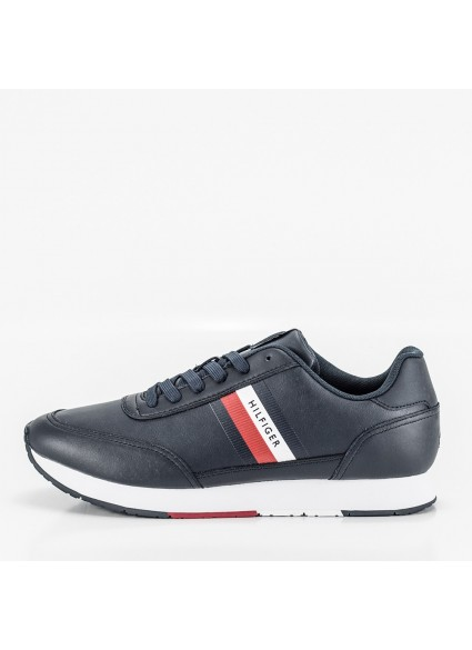ESSENTIAL RUNNER STRIPES LEATHER